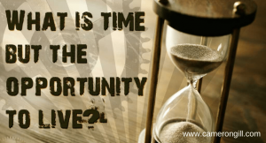 An opportunity to live